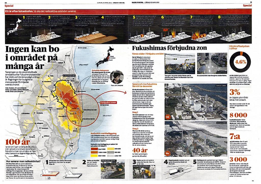 Dagens Nyheter Japan Tsunamin 1 år