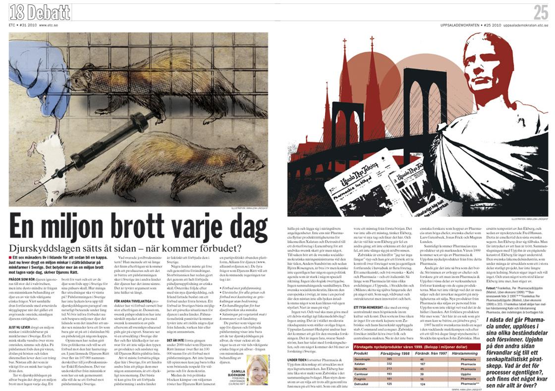 ETC Förlag Illustration och redigering
