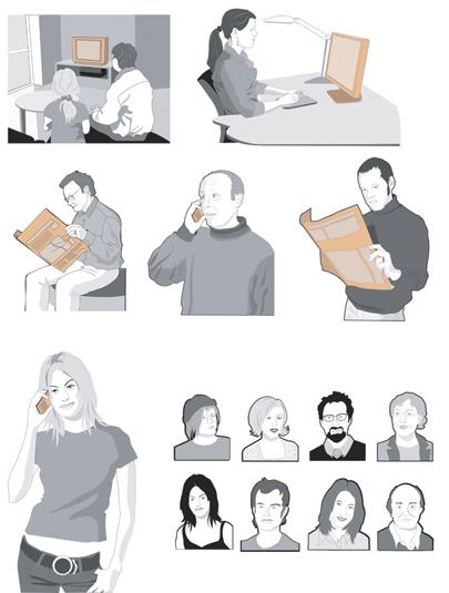 Människor i siutationer